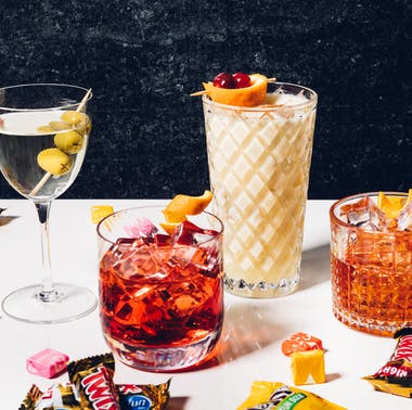 8 Cocktail & Candy Pairings