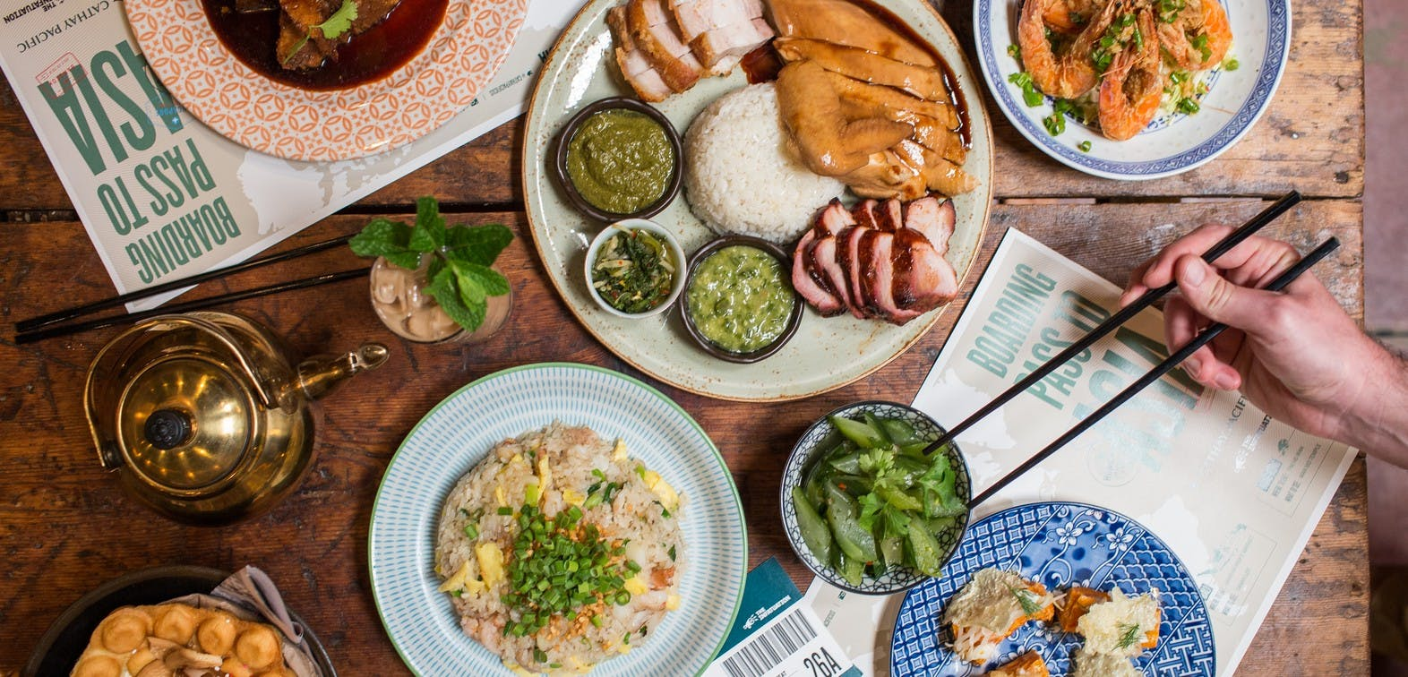 Win 2 Tickets To A Dinner Party At Tigerfork with Cathay Pacific Airways - Washington DC - The Infatuation