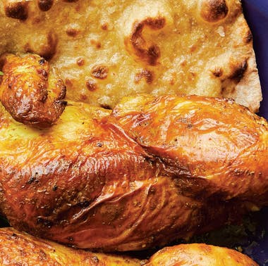 Cook Like A Restaurant: How To Make Bavel's Turmeric Chicken With Toum