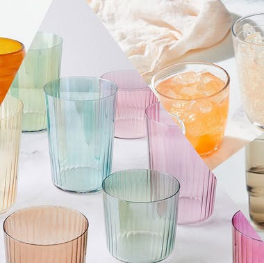 27 Stylish Drinking Glasses To Upgrade Your Dinner Table