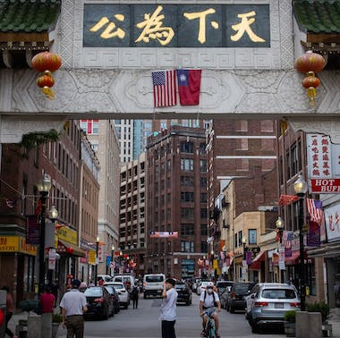 Boston's Chinatown Amidst COVID-19, In Pictures
