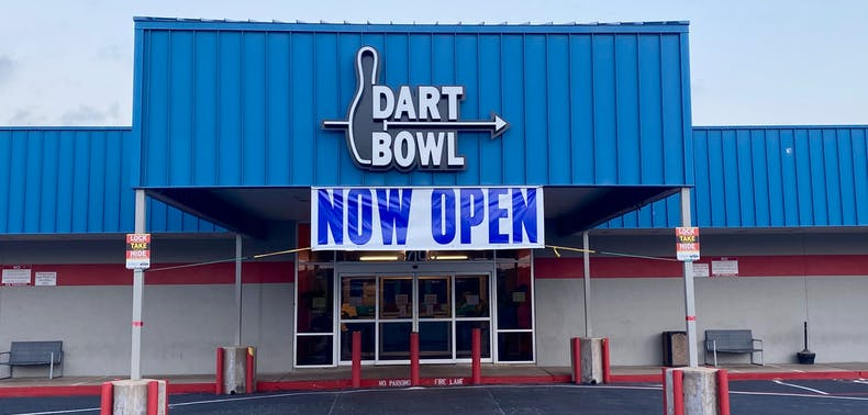 Dart Bowl Permanently Closing After 62 Years