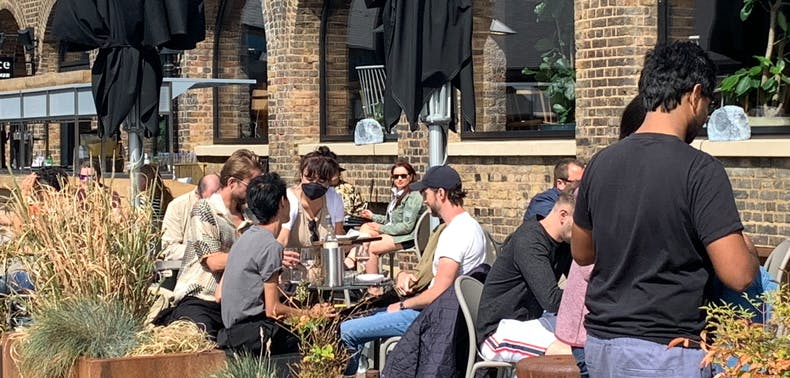 Westminster City Council Plans For Outdoor Dining This April