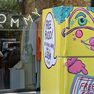 This Coffee Shop in Bed-Stuy Set Up Three Community Fridges