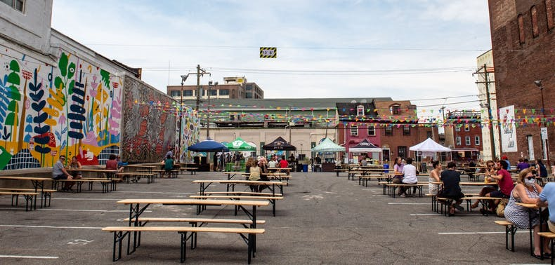 Philly's Outdoor Restaurant Reopenings, In Pictures