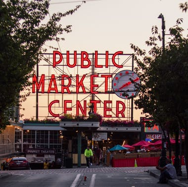 Pike Place Market Amidst COVID-19, In Pictures