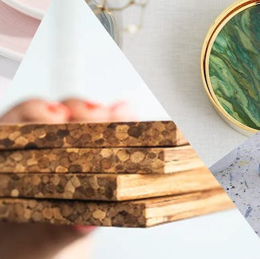 Protect Your Surfaces With These Attractive Coasters