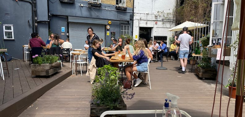 Reopening Report: Outdoor Brunch At Brunswick East