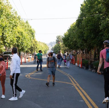 A Running List Of SF Streets That Are Closed For Outdoor Dining