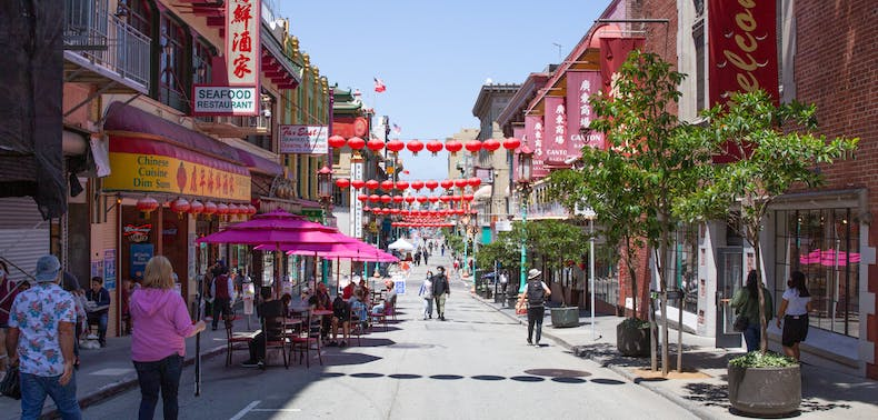What It's Like To Eat In Chinatown & The Mission When The Streets Are Closed For Restaurants