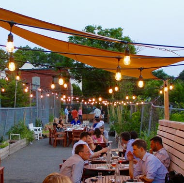 Woods Hill Pier 4's First Patio Season + 5 Other Patios We Love