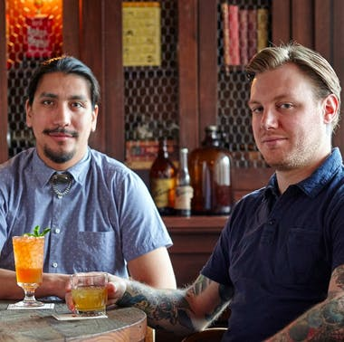 Ronnie Higgins & Rob Guevara of Fox Bar feature image
