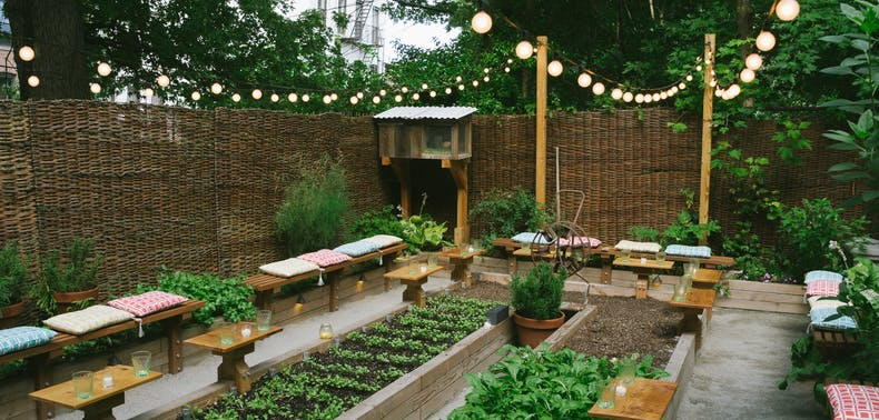 19 Unique Outdoor Dining Options In NYC