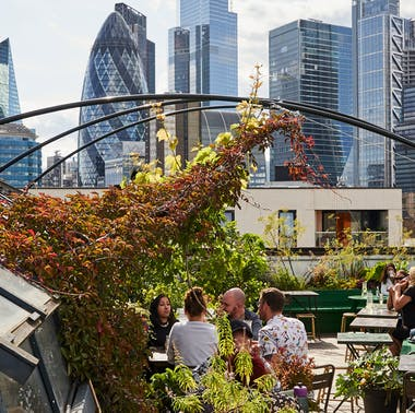 15 Unique Outdoor Dining Options In London