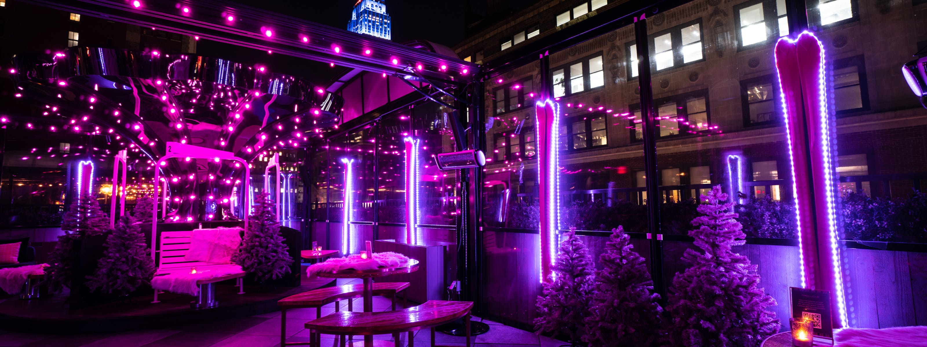 6 NYC Rooftops With Outdoor Heat Lamps