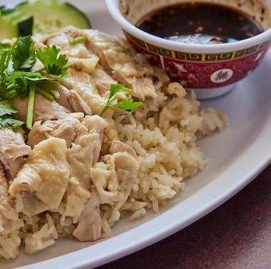 The Best Hainan Chicken Rice In LA
