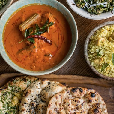 The Best Indian Restaurants In Central London feature image
