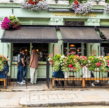 Where To Eat Outside In Kensington Today