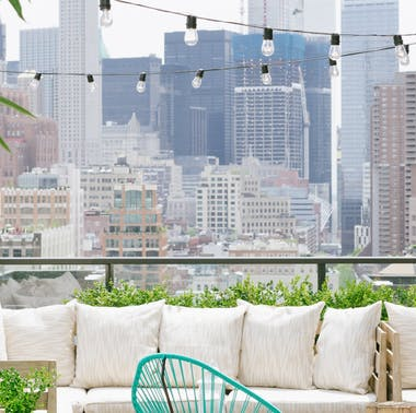 The Best NYC Rooftops For Eating & Drinking