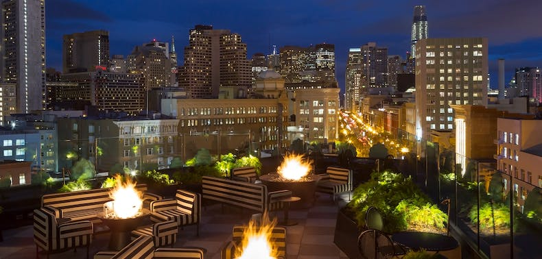 7 SF Rooftop Bars & Restaurants Open For Outdoor Dining