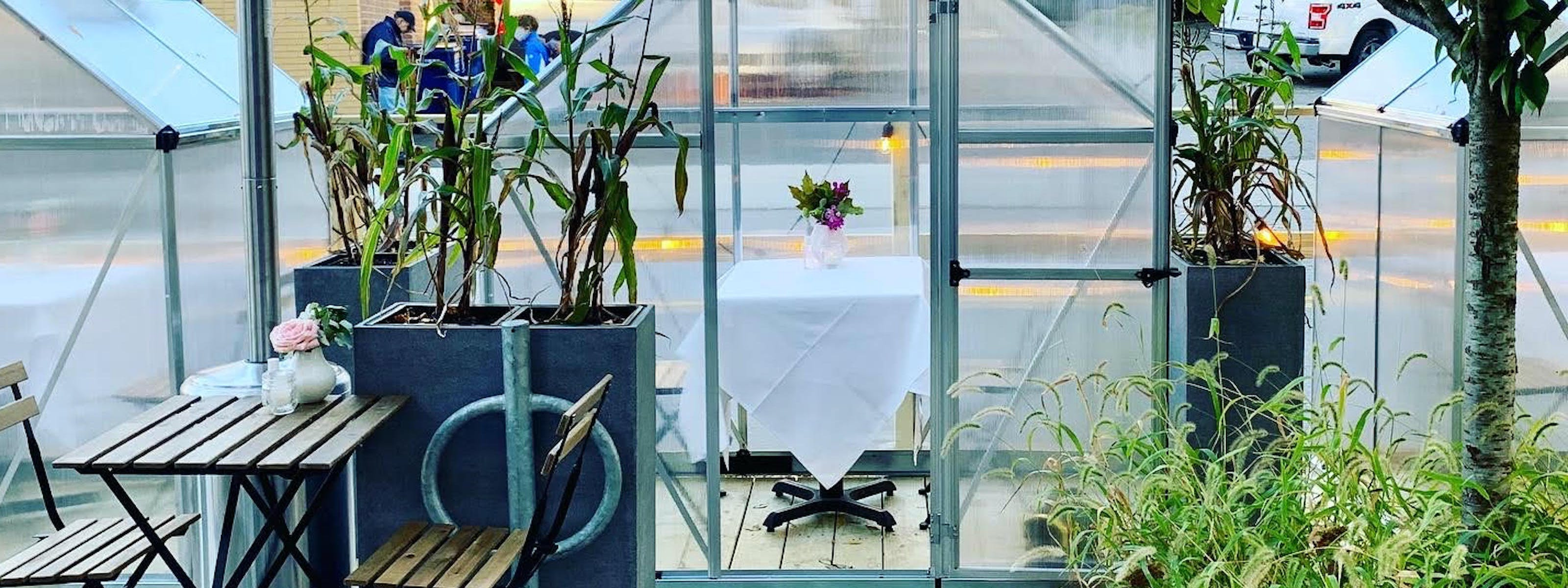 Boston Restaurants With Enclosed Tents, Domes And Greenhouses For Outdoor Dining