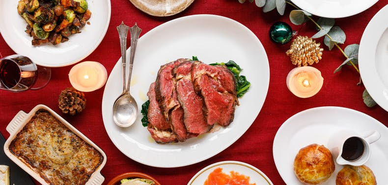Everything You Need For Christmas, Delivered From London Restaurants
