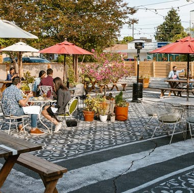 LA Restaurants With New Patios And Outdoor Seating