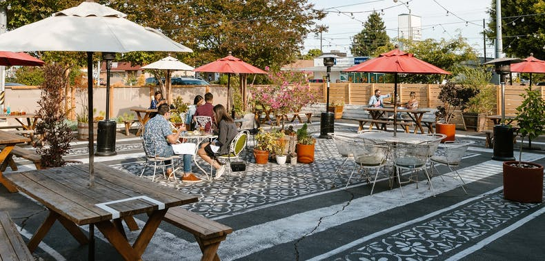 62 Unique Outdoor Dining Options In LA