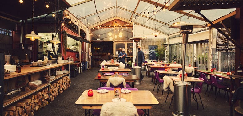 Where To Eat Outside That's Fully Covered