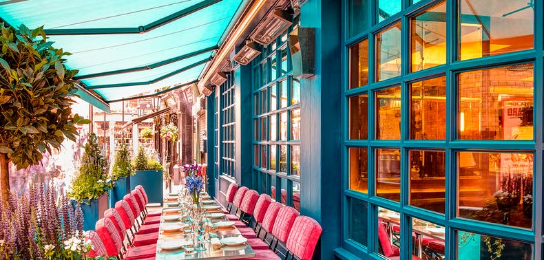 72 London Restaurants With Outdoor Heat Lamps