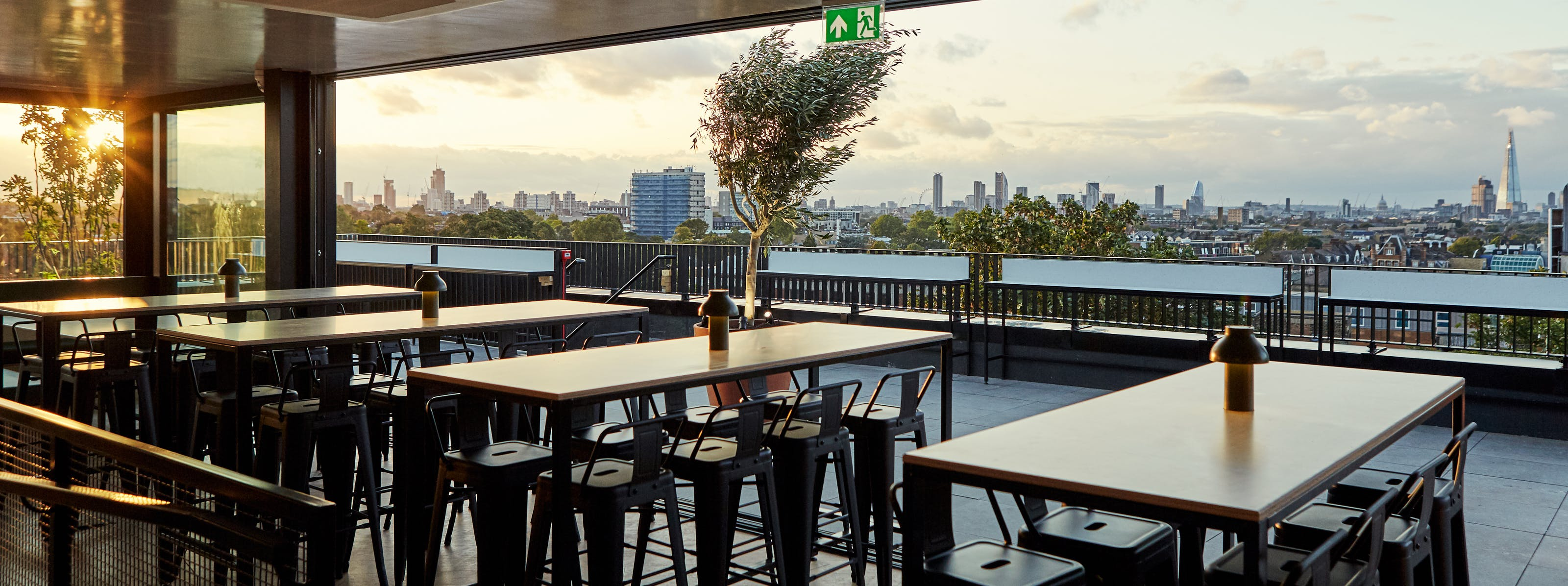 The London Rooftops That Actually Do Good Food - London - The Infatuation