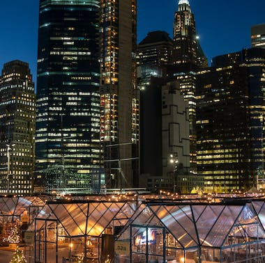 NYC Restaurants With Bubble Tables & Tents