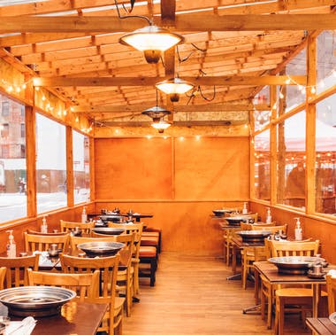 NYC Restaurants With Outdoor Heat Lamps