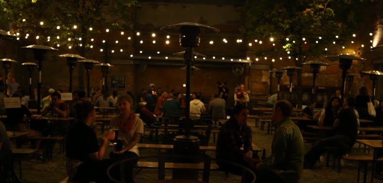 9 Philly Restaurants With Outdoor Heat Lamps & Fire Pits