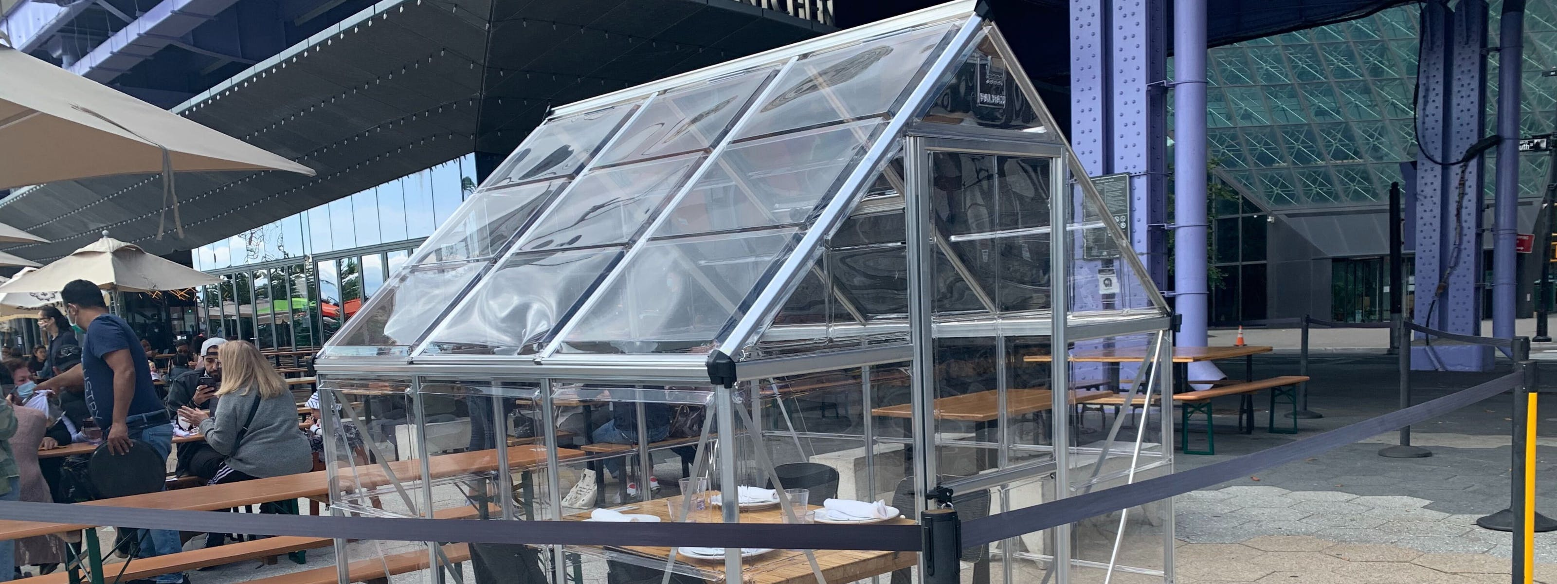 NYC Restaurants With Enclosed Tents For When It's Freezing & Raining Sideways - New York - The Infatuation