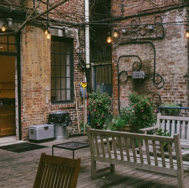 The Secret Patios Of NYC