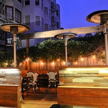 SF Restaurants With Outdoor Heat Lamps & Fire Pits