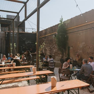 The Best Outdoor Breweries In NYC