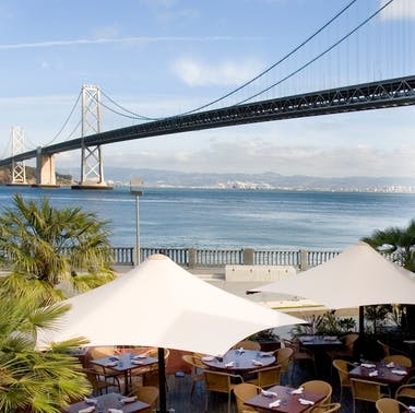 SF Waterfront Restaurants With Outdoor Seating