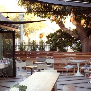 Where To Drink Wine Outside In LA