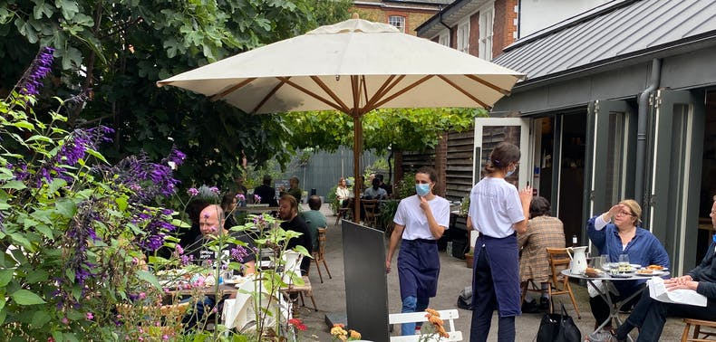 Where To Eat Outside In Shoreditch