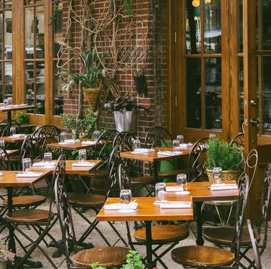 Where To Eat Outside In The West Village