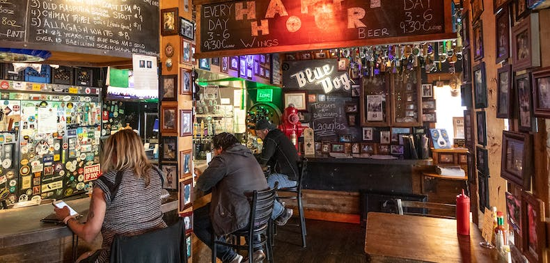 Where To Get A Burger And A Beer By Yourself
