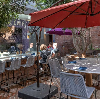 Where To Drink Outside In Hollywood
