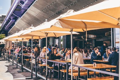 lovely industry kitchen seaport | Cowgirl Sea-Horse - South Street Seaport - New York - The ...