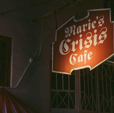 Marie's Crisis Cafe feature image