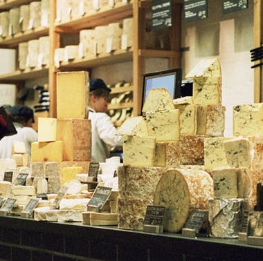 Neal's Yard Dairy Borough Market Shop feature image