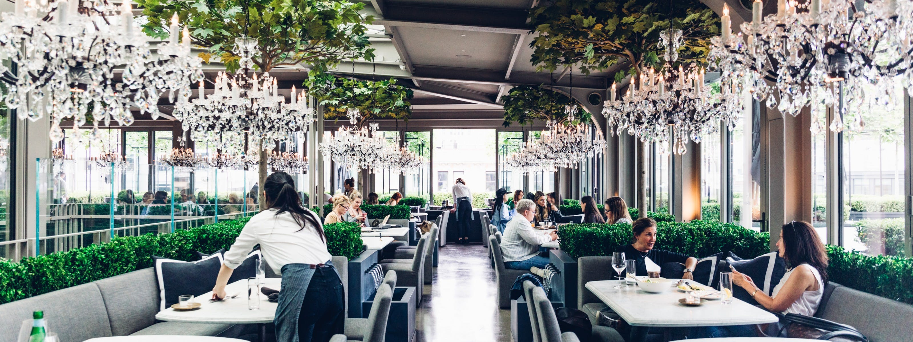 Rh Rooftop Restaurant Meatpacking District New York The Infatuation