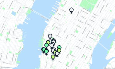 The Best Restaurants In Chelsea - New York - The Infatuation Chelsea Galleries Map on