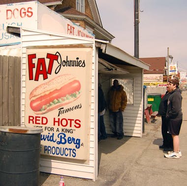 Fat Johnnie's Famous Red Hots feature image